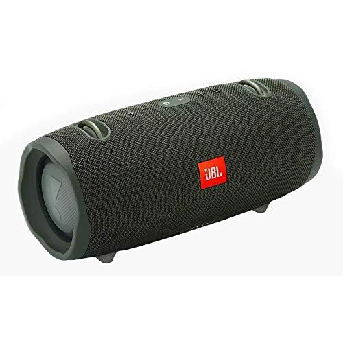 Caixa de som com Bluetooth, 15hs de reprodução, Classificação IPX7 à Prova d´Água, 40W Verde-JBLXTREME2GRNBR