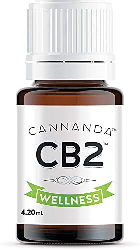 CB2 WELLNESS: EXTRA STRENGTH – Ultra Concentrated CB2 Oil – Helps with Pain & Inflammation / Anxiety & Stress / Stronger…