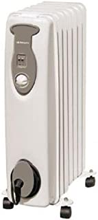 Orbegozo RA1500 - Radiador de aceite, 1500 W, 7 elemementos, termostato, color blanco