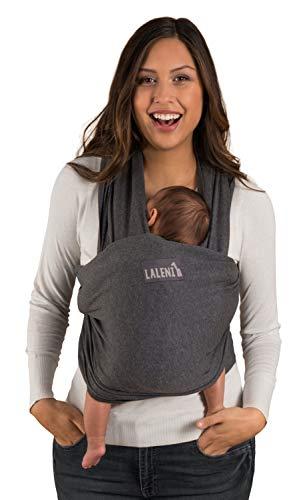 Laleni Babytragetuch für Neugeborene - 100% weiche Bio-Baumwolle, Tragetuch Baby elastisch bis 15kg