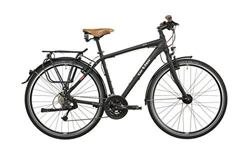 Ortler Meran Herren schwarz matt Rahmengröße 60 cm 2016 Trekkingrad