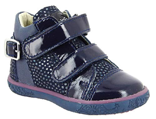 Bottillons Bebe Fille Noel Mini ADY Navy (22 EU)