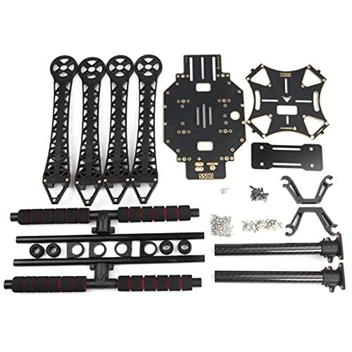 YNSHOU Accesorios de Juguete Accesorios Drone Frame, S500 Drone Frame Kit 480mm Distancia Entre Ejes 10 Pulgadas para RC Drone Fácil de Instalar (Color: Negro) ( Color : Black )