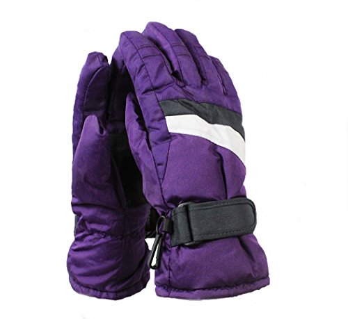 Crivit Sports Mädchen Skihandschuhe Snowboardhandschuhe Handschuhe lila 6