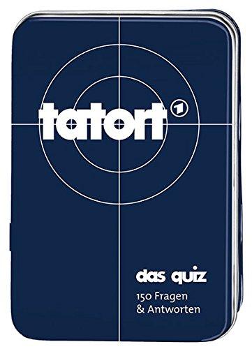 Moses Verlag MOS00806 Kartenspiel Tatort-Das Quiz, 150 Fragen und Antworten, Grey