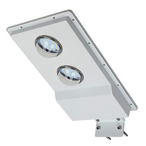 1100Lumen LED Solar Straßenlaterne im Freien kommerzielles IP65 wasserdichte, Abenddämmerung bis zum Morgengrauen Sensor; Timing-Modus 50 LEDs 6500K Bereich Sicherheit Nachtbeleuchtung