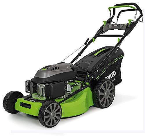 VITO Garden Cortacésped de gasolina con tracción a gasolina, Easy-Start, cortacésped 4 en 1, gasolina de 4 tiempos, 4,2 kW, ancho de corte de 53 cm