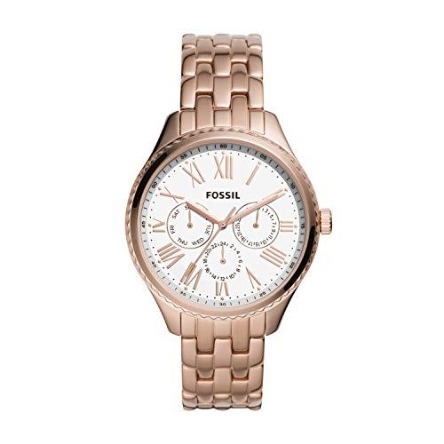 Fossil - Reloj de Cuarzo de Acero Inoxidable para Mujer BQ3576