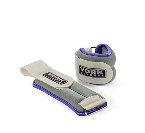 York Fitness Gewichtsmanschetten Soft Ankle/Wrist Weights, 60024