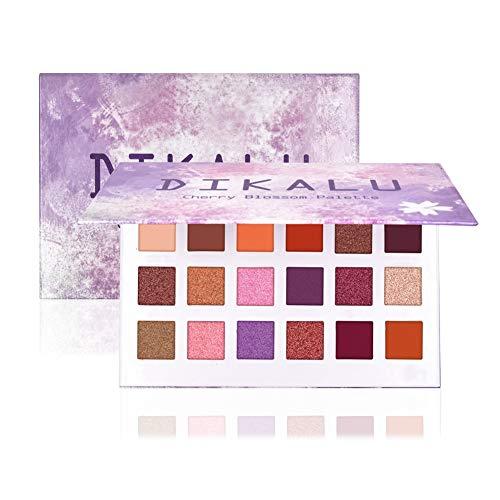 ROMANTIC BEAR Cherry Blossom Palette 18 Farben Lidschatten Pulver Make-up Waterproof Lidschatten...