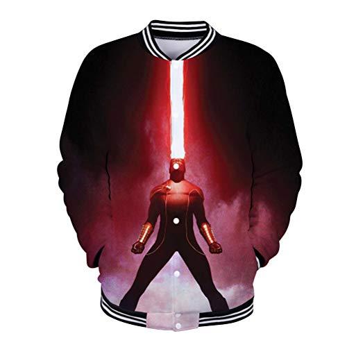 X-Men Pullover Otoño cálido deportes sudadera suave algodón abrigos bonitos mujeres comodidad comodidad chaqueta de algodón hombres clásico básico jersey suave y algodón Outwear para Mujeres y Hombres