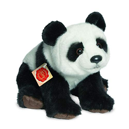 Teddy Hermann 924265 Panda Plüsch, 28 cm