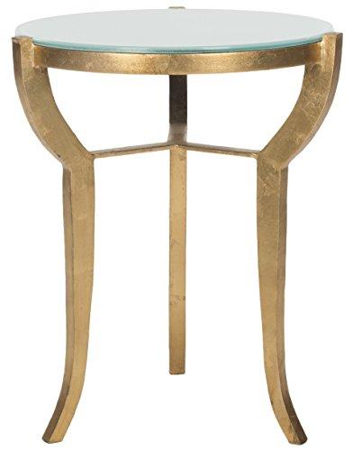Safavieh Suri Akzenttisch, Metall, Gold, 41 x 41 x 52.07 cm