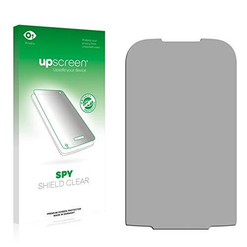 upscreen Anti-Spy Blickschutzfolie kompatibel mit LG Electronics P690 Optimus Net Privacy Screen Sichtschutz Bildschirmschutz-Folie
