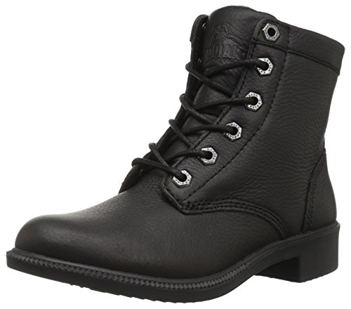 Kodiak Original Women's Waterproof Leather Ankle Winter Boot, black, 8 M US