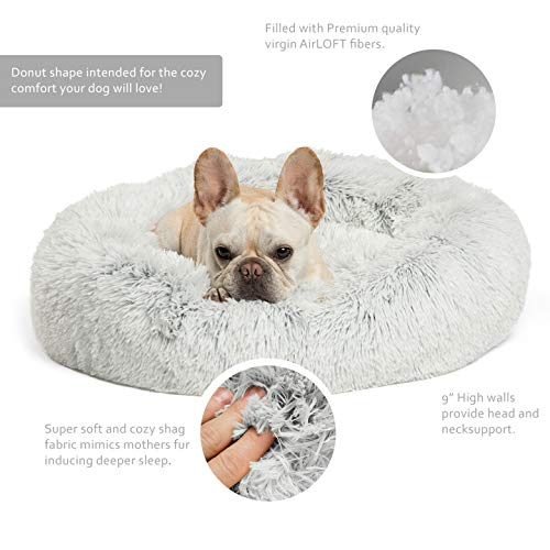 Product Image 2: Best Friends by Sheri The Original Calming Donut Cat and Dog Bed in Shag Fur