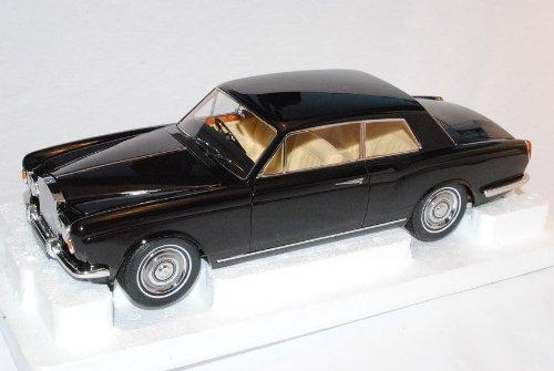Unbekannt Rolls Royce Silver Shadow MPW 2 Türer Coupe Linkslenker Schwarz 1/18 Paragon Modell Auto