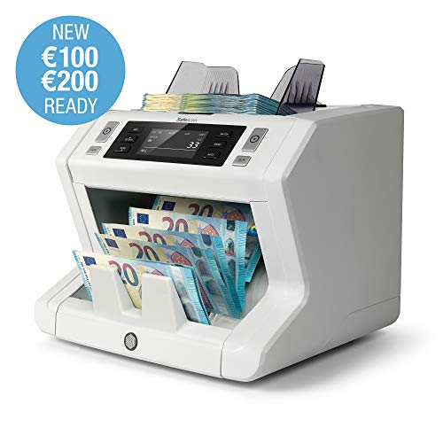 Safescan 2650 - High-Speed Banknotenzähler für sortierte Geldscheine, mit 3-facher Falschgeldprüfung