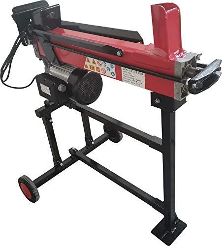 Varan Motors - NEELS-04F Elektrischer Holzspalter/Holzspalter 2900W 230V 7T, auf Rahmen, Stamm bis 52cm