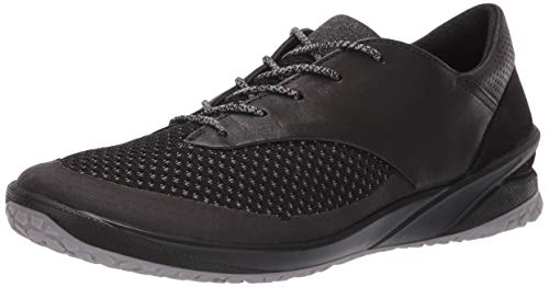 ECCO Women's Biom Life Tie Sneaker, Black/Black, 40 M EU (9-9.5 US)