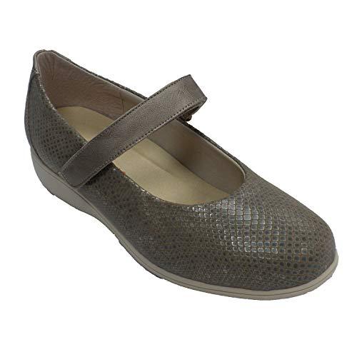 Zapatos Mujer Merceditas Especiales para Plantillas ortopédicas Doctor Cutillas en beig Talla...