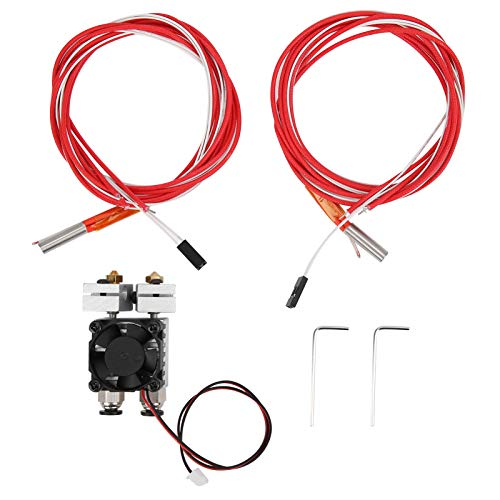 High Printing Accuracy Hot End Kit 3D Printer Accessories Corrosion Resistance 180℃-260℃ Stable with Good Heat Insulation Effect