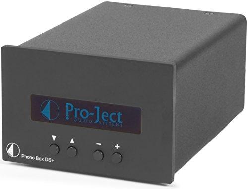 Pro-Ject Phono Box DS Plus Component Phonograph Preamplifier, Black
