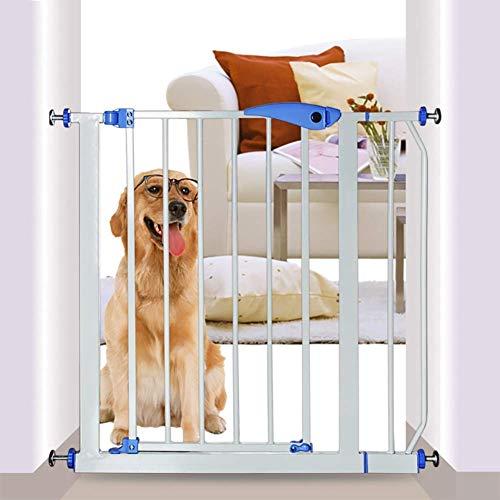 Cerca de seguridad de cachorro extra, cerca de seguridad del bebé, gabinete de guardia segura de perro portátil, para uso de la escalera interior / de la puerta del hogar, ancho 67-85 cm (Color: H75CM