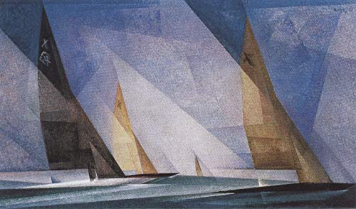Filmposter 381 Lyonel feininger Segelboote 1929, A3-Poster (42/30 cm)