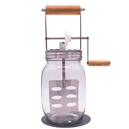 mason jar butter churn - 6