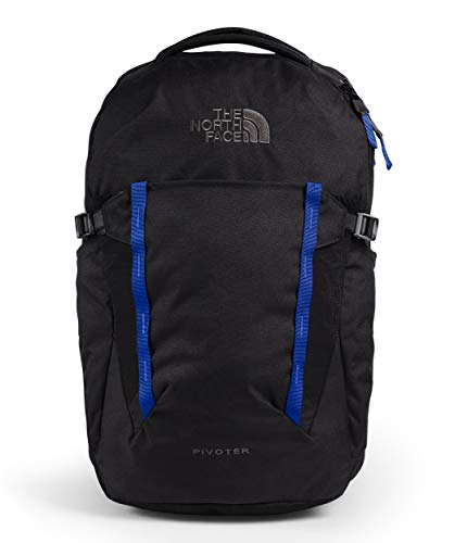 The North Face Pivoter Backpack Tnf Black Heather/Tnf Blue One Size