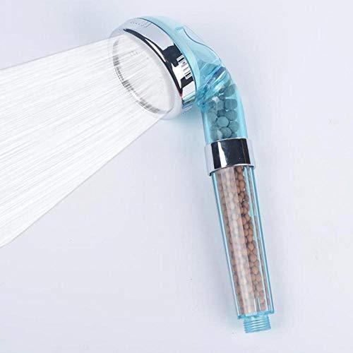 Alcachofa de Ducha de Mano Saludable Spa de iones negativos Filtrado Ajustable Tres modos Spa de iones negativos Ahorro de agua a alta presión Fácil de limpiar Duradero Adecuado para baño Cocina
