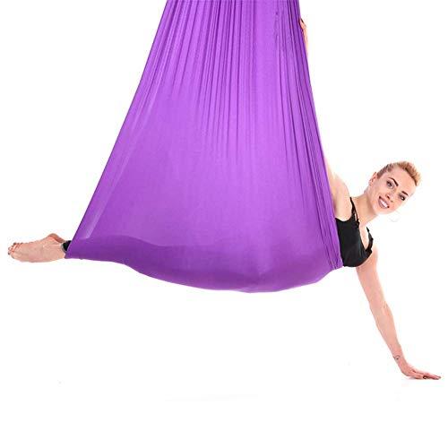 Fitness Durable Aerial Yoga Swing, Yoga Hammock, Polyamide Fibre Elastic Beginners for Professional