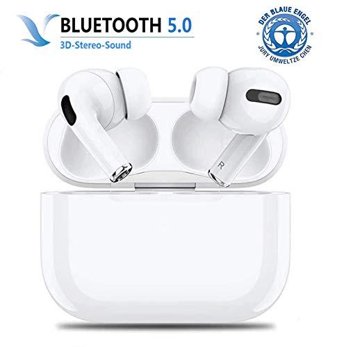 Bluetooth-Kopfhörer,kabellose Touch-Kopfhörer HiFi-Kopfhörer In-Ear-Kopfhörer Rauschunterdrückungskopfhörer,Tragbare Sport-Bluetooth-Funkkopfhörer,Für Apple Airpods Pro/iPhone/Samsung