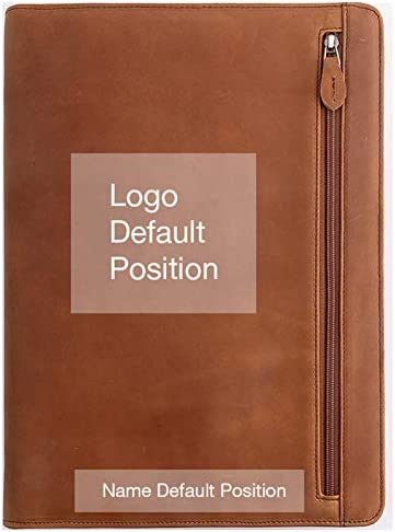 Gavarnie Personalized Leather Portfolio Padfolio for Men Engraved Gifts for Father s Day for product image
