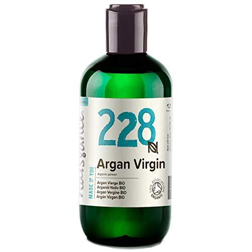 Naissance marokkanisches Arganöl Nativ BIO (Nr. 228) 250ml - kaltgepresst, rein natürlich - Pflegeöl für Gesicht, Haut, Haar, Bart & Nagelhaut