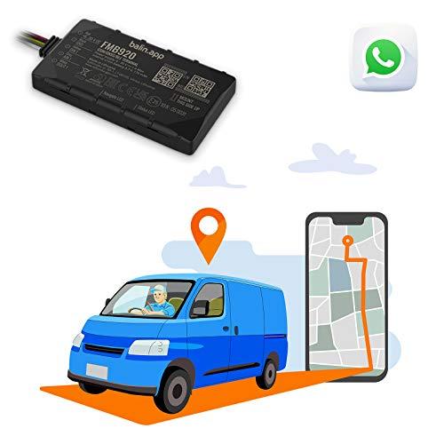 Balin.App - Localizador GPS Profesional para vehículos, con Tarjeta SIM incluida. Dispositivo ya configurado y Listo para Usar. Consulte los vehículos del Portal Web y la App.