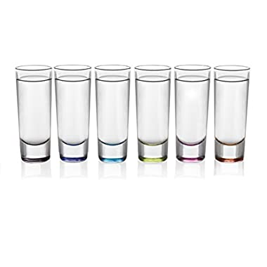 Libbey Troyano 6-piece MultiColor Shooter Glass Set