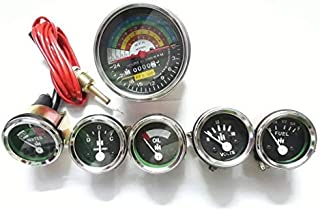 IH Farmall 460, 560 Gas/Diesel 2200 RPM Tachometer+Temp+Oil Pressure+Ampere+ Fuel +Volt