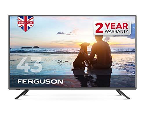 Ferguson 43' Full HD LED TV With Freeview HD, USB & 3 x HDMI - British Manufacturer - F4320DVB (New...