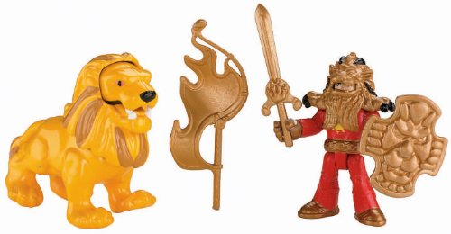 Fisher-Price Imaginext Eagle Talon Castle Knight and Lion