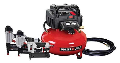 PORTER-CABLE PCFP3KIT 3-Nailer and Compressor Combo Kit