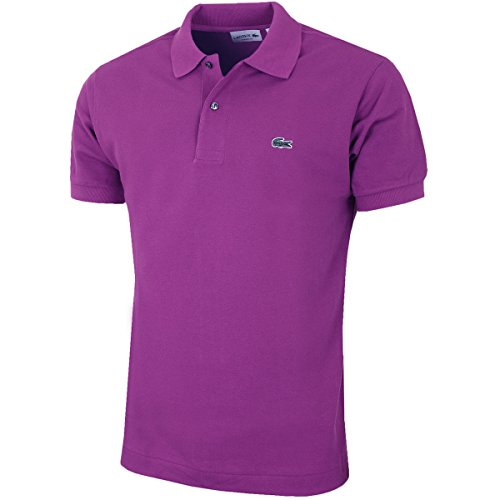 Lacoste Herren Classic L1212 Poloshirt aus Baumwolle - Purple - Size 3 - S