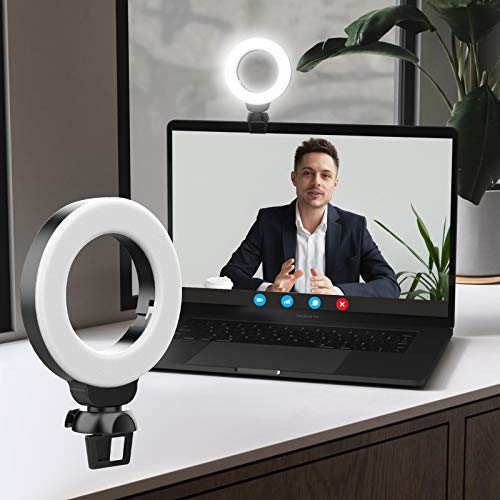 Monodeal Video Conference Lighting Kit, LED Fill Light for Laptop Macbook...