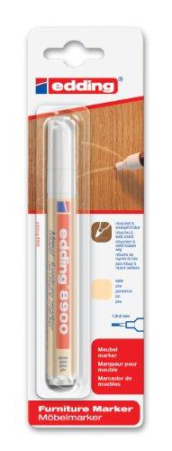 edding e-8900-1-4622 - Marcador para retocar muebles color Pino, Retoca y repara arañazos y desperfectos