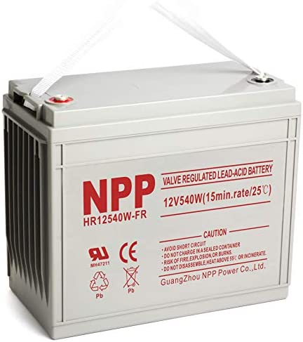 NPP 12V 160ah AGM Deep Cycle Rechargeable Battery for Pv Solar Panels Smart Chargers Wind Turbine product image