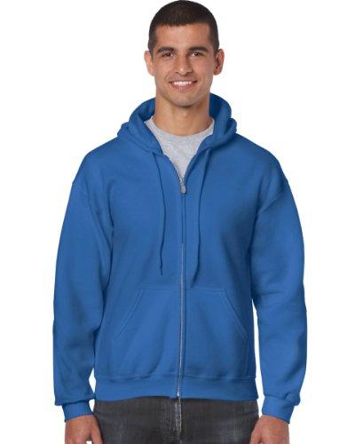 Gildan Gildan 18600 Heavy Blend Erwachsene Full Zip Hoodie Hooded Sweatshirt Royal 2XL