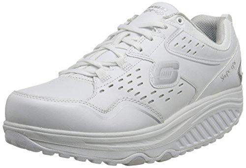 Skechers Shape-Ups 2.0-Perfect Comfort, Zapatillas de Deporte Mujer, Blanco (WSL), 40 EU
