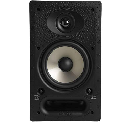 """Polk Audio 65-RT In-Wall Speaker (1) 6.5"""" driver - The Vanishing Series with Premium Sound 