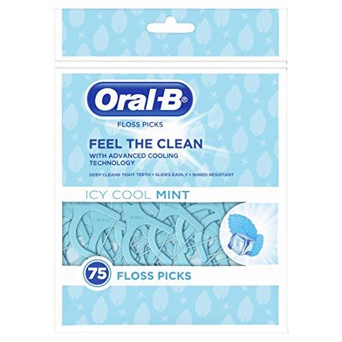 Oral-B Complete Zahnseide-Sticks mit Icy-Mint-Geschmack (75 Stück)